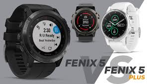 <b>Garmin Fenix 5</b> vs. <b>Fenix 5</b> Plus - What is the difference?