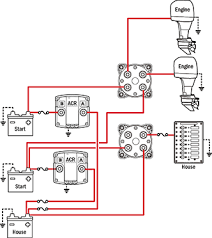 battery management wiring schematics for typical applications simple operation can parallel batteries for extra starting power 2 dual circuit