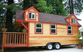 Small Picture Tiny House on a Trailer with Two Lofts and Big Porch