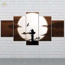 Silhouettes <b>Naruto</b> Shippuden Picture And Poster <b>Canvas Painting</b> ...