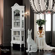 dining room table mirror top: solid wood luxury classic furnishing corner display cabinet