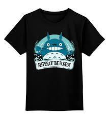 """Детская футболка классическая унисекс """"<b>Мой сосед Тоторо</b> ..."""