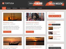 best news magazine wordpress themes  tortuga