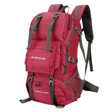 Large <b>60L Outdoor Backpack</b> Unisex Travel <b>Climbing</b> Backpacks ...