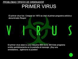 Resultado de imagen de imagen de creeper virus