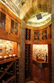 stone bulkhead curved stone storage room and unique cabinet contemporary wine cellar awesome wine cellar
