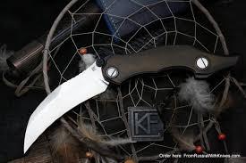 Купить <b>Нож Krokar</b> Ti (Алексей Коныгин, титан, цирконий, M390 ...