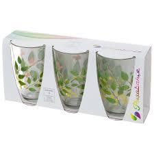 Набор стаканов 3 шт <b>Pasabahce Butterflies</b>, <b>360 мл</b> (1001879901 ...