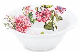 <b>Michel Design Works</b> Melamine Medium Serving Bowl, <b>Peony</b> - Buy ...
