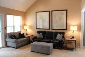 amusing living room wall colors with dark wood black furniture wall color