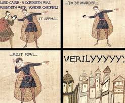 Anachronistic Memes: The Best of the Bayeux Tapestry | Mental Floss via Relatably.com
