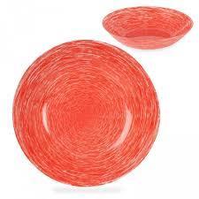 Тарелка <b>суповая</b> 23 см P1383 <b>Brush Mania</b> Red <b>Luminarc</b>