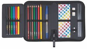 <b>Пенал Herlitz</b> SmileyWorld <b>Rainbow</b> с наполнением 19 предметов ...