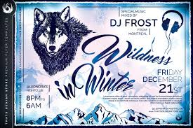 wildness in winter flyer template by lou graphicriver 01 wildness in winter flyer template jpg