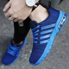 Online Shop <b>Men Running Shoes</b> Breathable Outdoor Zapatillas ...
