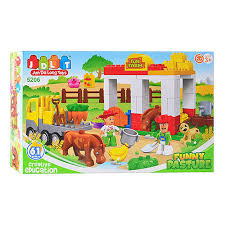<b>Конструктор</b> JDLT 5206 зоопарк, развивающая игрушка, подарок ...