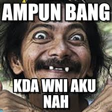 Ha : Ampun Bang, Kda Wni Aku Nah - by Anonymous - spm7lz