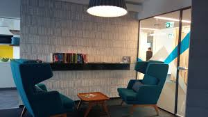 we cared about rooms and locations that would be well suited to an informal atmosphere while maintaining the characteristics of a work zone atmosphere google office