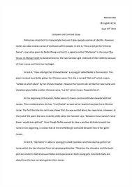 comparative essay outline example source comparative essay outline