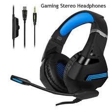 Big Headphone Gamer 7.1 earphone with <b>Light</b> Mic Gaming ...