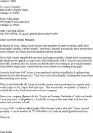 customer complaint response letter template   letters  letter    customer complaint letter template