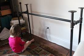 we black iron pipe table