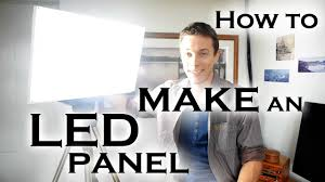 How to make a super bright <b>LED light</b> panel (for video work etc ...