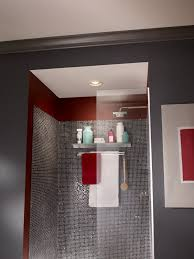 add a stylish recessed light and ventilation to your bathroom view larger bathroom recessed lighting