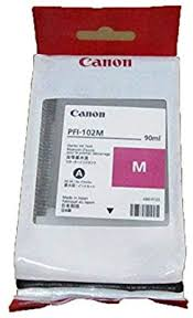 Canon PFI-102M Magenta 90ml Ink Tank for Canon ... - Amazon.com