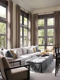 living room carolina design associates: like the long narrow ottomon and extra long couch hickman design associates chicago illinois