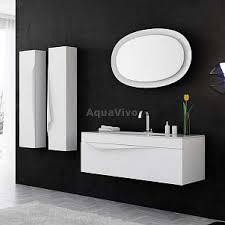 Подвесной комплект мебели для ванной комнаты Аквелла ...