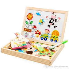 2019 Wholesale Multifunctional <b>Wooden Toys</b> Educational Magnetic ...