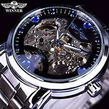 T-WINNER Fashionable <b>Designer</b> Stainless Steel White and <b>Blue</b> ...