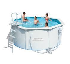 Купить 56571 <b>Каркасный бассейн</b> круглый со стальными ...