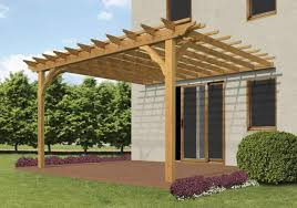 Pergola Attached To House Photo   Patio Design   The Advantages of    Image of  Attached Pergola Plans