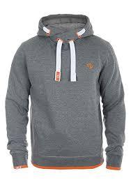 SOLID Benjamin Hood Kapuzenpullover, Größe:S;Farbe:Grey ...