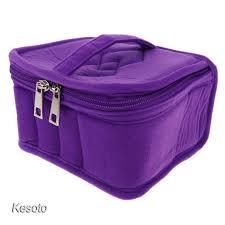 <b>Essential Oils</b> Storage Bag Travel Case for 15ml Bottles <b>13 Slots</b> ...
