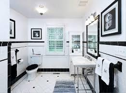 white bathroom floor: black and white bathroom floor ideas