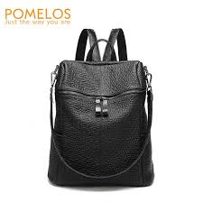 <b>POMELOS Female Backpack New</b> High Quality PU Leather ...