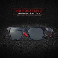 dubery classic style square sunglasses polarized sunglasses sports trend sport fietsbril riding glasses