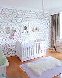 remodelando la casa antonias stylish nursery marrakech stenciled wall for a purple baby girl nursery bedroom endearing rod iron