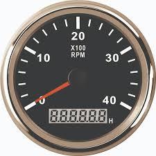 <b>New 52mm</b> Speed sensor Digital Tachometer Engine Hourmeter 0 ...