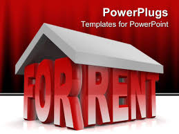 powerpoint template animated depiction of a house formed by for ppt template he words get help here symbolizing the need to offer support and answers