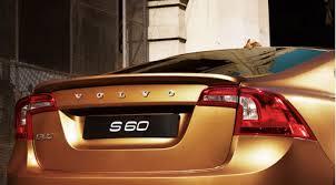 <b>Спойлер</b> для <b>двери багажника</b> - S60 2012 - Аксессуары Volvo Cars