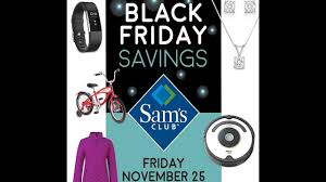 Sam's Club Black Friday Ad 2016 - YouTube