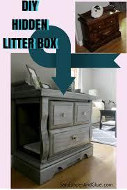 diy hidden litter box from sandpaperandgluecom cat litter box furniture diy