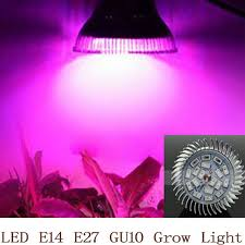 <b>Full</b> Spectrum <b>LED Grow Light</b> 18W <b>E14</b> /E27/GU10 Spotlight Lamp ...