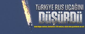 türkiye rus uçağını düşürdü ile ilgili görsel sonucu
