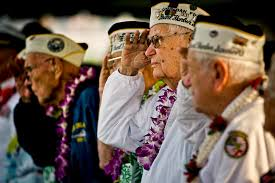 u s department of defense photo essay edgar harrison center a pearl harbor survivor and world war ii veteran salutes
