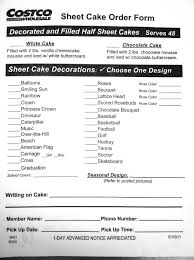 costco us bakery sheet cake order form addicted to costco costco